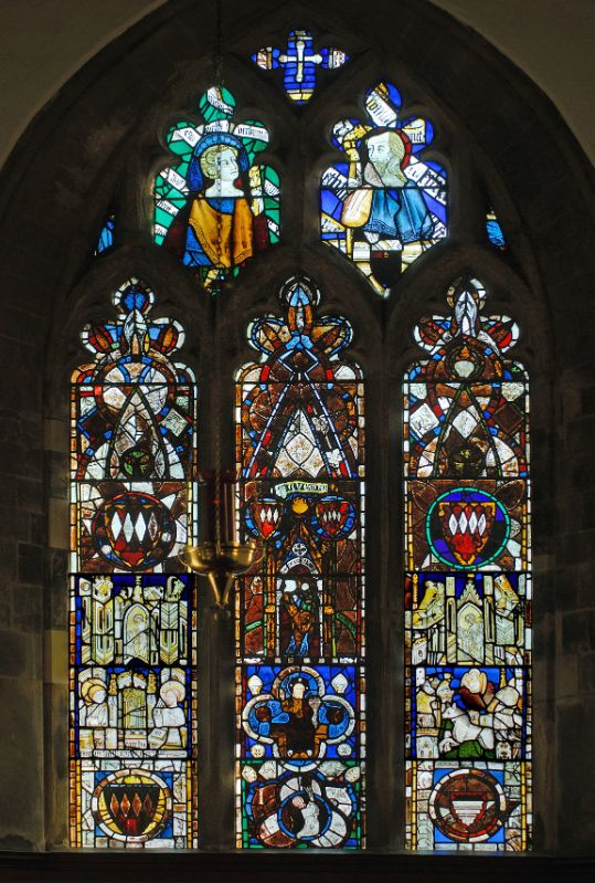 The east end window