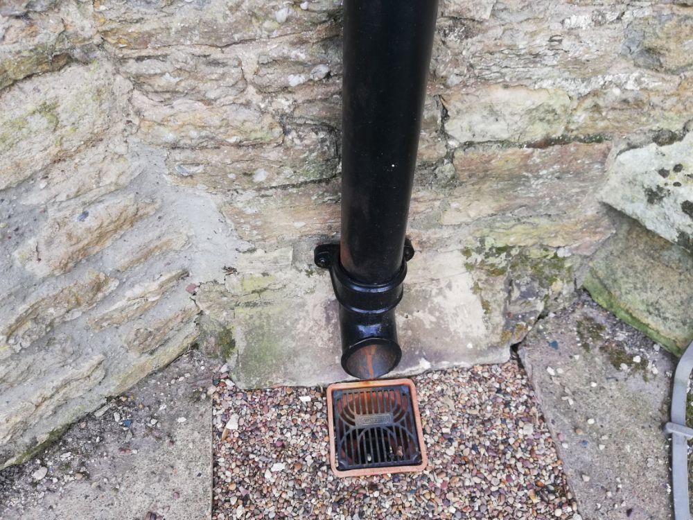 New cast iron rainwater goods